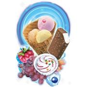 Мороженое ванильное с изюмом фото