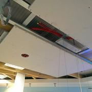 Монтаж систем лучистого отопления/охлаждения фото
