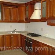Кухни дерево стандарт фото