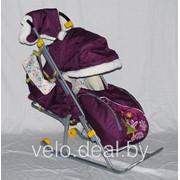 Санки коляска Ника детям 6 фото