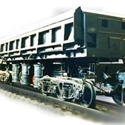 Ремонт 4-х осного вагона-самосвала фото