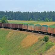 Транспортировка ж/д грузов фото