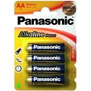 Батарейки Panasonic (LR6REB4BPU) фото