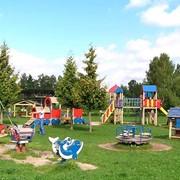 Устройство Резинового покрытия на детских, спортивных площадок. фото