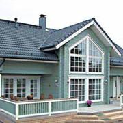 Строительство деревянных домов различных стилей. Архитектурное проектирование. фото