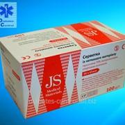 Спиртовые салфетки JS 100 шт фото