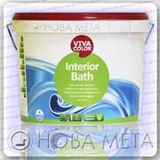 Краска для ванной влагостойкая Interior Bath Vivacolor полуглянцевая А 2,7 л фото