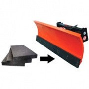 NoName Техпластины (скребки) для отвалов (с металлокордом) фото