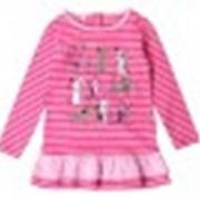 Платье КР 5325 малина полоска к99 фото