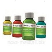 Колер паста для колеровки водно-дисперсионных и масляных красок 0,1 л ТМ Kolorit изумрудный фото