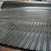 Резиновые дорожки (рифленые) фото