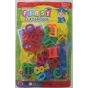 Детские пластмассовые буквы на магнитах (русская азбука). фото