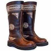 """Сапоги-унты женские, монгольские Luter """"Подарок Чингизхана"""" (-45С), коричневые: Размер: 37 фото"""