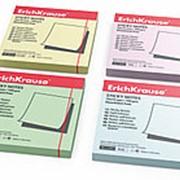 Erich Krause Бумага для заметок с клеевым краем EK, 75*75 мм, зеленый, 100 л фото