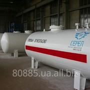 Резервуар для сжиженных углеводородных газов (СУГ) надземный СР061.000.00 фото