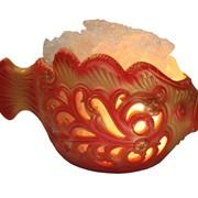 Соляная лампа Золотая рыбка 1,5кг фото