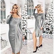 Нарядное женское платье ТК/-6017 - Бутылочный фото