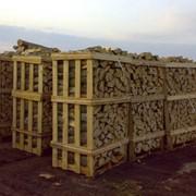 Упаковка дров колотых на европоддоны в термоусадочную пленку. фото