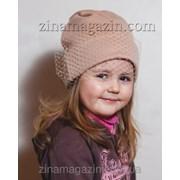 Детская шапка с вуалью 1 фото