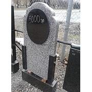 Памятники вертикальные, Памятник гранитный вертикальный №1160 фото