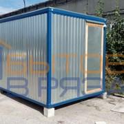 Блок-контейнер БК-03 ДВП, тамбур, 6.0х2.4х2.4 фото