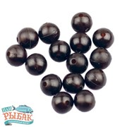 Шарик стопорный 6 мм резиновый (чёрный) (в уп. 20 шариков) (26-00-0048) фото
