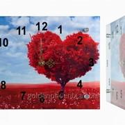 Настенные часы Дерево сердце фото
