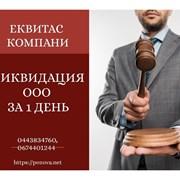 Экспресс-ликвидация ООО за 1 день в Киеве. фото