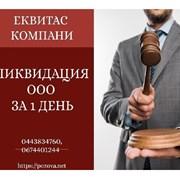 Експрес-ліквідація ТОВ у Києві. Ліквідація ТОВ за  фото