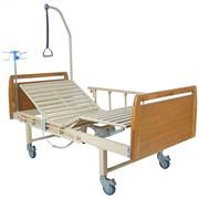 Медицинская кровать E-8 (ММ-018) (2 функции) фото