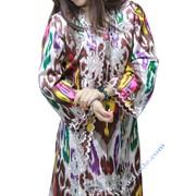 Комплект костюма из атласа фото
