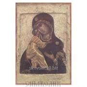 Икона Божией Матери Владимирская, XVI в. фото