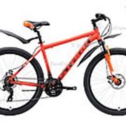 Велосипед Stark Indy 26.1 D Shimano (2020) Оранжевый 16 ростовка фото