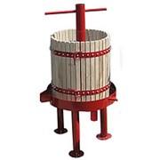 Пресс для винограда Кубанец дубовый, винтовой 100л. фото