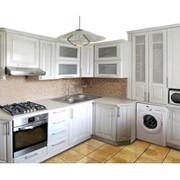Кухонный гарнитур белый фото