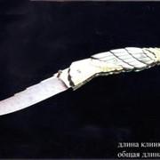 Ножи авторские. Модель 106. Нож булатный складной, одноручный - 3. фото