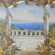 "Картина ""Средиземноморский пейзаж"" 61х91, 91х121 фото"