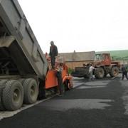 Строительство и ремонт дорог фото