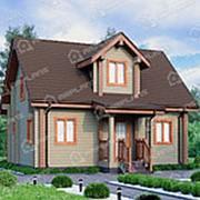 Дом из профилированного бруса ДБП-073 фото