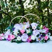 Аренда свадебных колец на крышу автомобиля Калуга фото