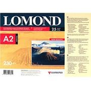 Фотобумага струйная A2 Lomond глянцевая 230г-25листов фото