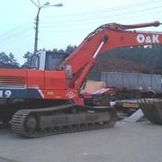 Аренда экскаватора в Киеве модель O&K RH 9 фото