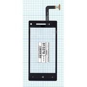 Сенсорное стекло (тачскрин) для HTC Windows Phone 8x черный, Диагональ 4.3 фото