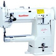 Швейная машина промышленная рукавная SUNSTAR КМ- 380 BL фото
