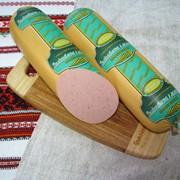 Колбасы варёные. Деликатесна з молоком (варена). фото