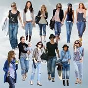 Пошив женской джинсовой одежды на заказ фото