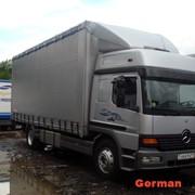 Автомобиль грузовой Mercedes 1228 Atego Mega Space фото