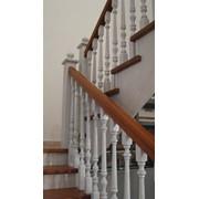 Лестница для дома деревянная фото