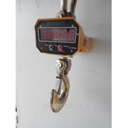 Крановые весы на10т с пультом дистанционного управления фото