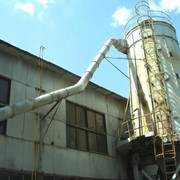 Пневмотранспорт - это совокупность установок, агрегатов, узлов и воздуховодов, конструкций служащих для транспортирования материала в трубопроводах посредством воздушного потока фото